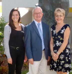 Literacy Council Staff (left to right): Program Assistant Lilly Carrillo, Executive Director Tom Melville and Program Director Susan Bergstrom.