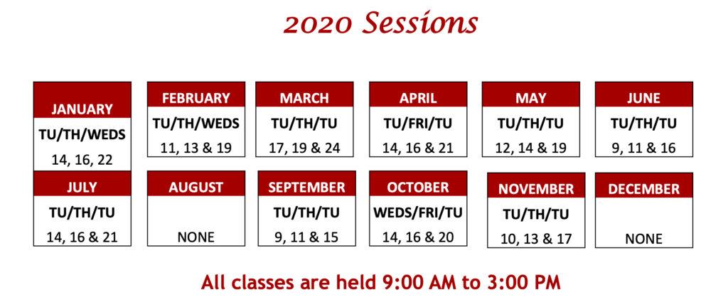 2020-tutor-schedule